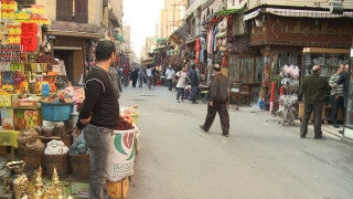 Egypt 033 Egypt Stock Footage: Khan al Halili, Cairo