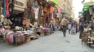Egypt 034 Egypt Stock Footage: Khan al Halili, Cairo