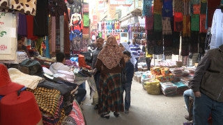 Egypt 036 Egypt Stock Footage: Khan al Halili, Cairo
