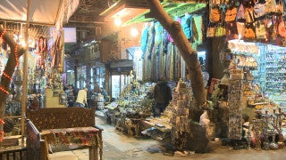 Egypt 038 Egypt Stock Footage: Khan al Halili, Cairo
