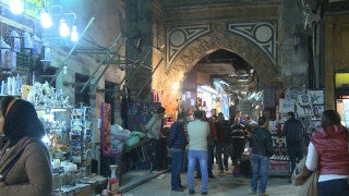 Egypt 039 Egypt Stock Footage: Khan al Halili, Cairo