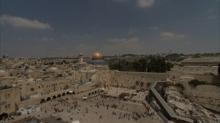 JJ_009 - Jewish sites in Jerusalem: The Western Wall long shot