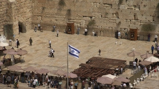 JJ_011 - Jewish sites in Jerusalem: The Western Wall tilt up