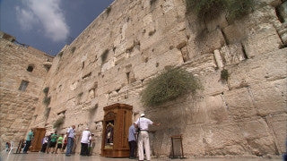 JJ_014 - Jewish sites in Jerusalem: The Western Wall low angle