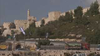 JJ_042 - Jewish sites in Jerusalem: Tower of David from the southwest