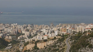 LB 019 International stock footage: Beirut - Tripoli Highway