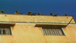 MG_027 Israel military footage: Gaza stock footage - Israeli soldiers on a Gaza rooftop, 2000