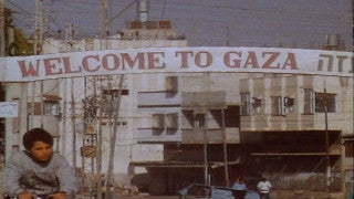 MG_029 Israel military footage: Gaza stock footage - Entrance to Gaza, Palestinians passing by (no audio), 1982