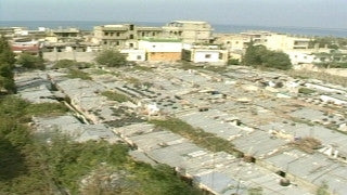 MG_047 Israel military footage: Gaza stock footage - Life in a Palestinian refugee camp in Gaza, 2002
