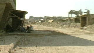 MG_052 Israel military footage: Gaza stock footage - Life in a Palestinian refugee camp in Gaza, 2002