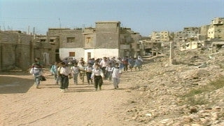 MG_055 Israel military footage: Gaza stock footage - Life in a Palestinian refugee camp in Gaza, 2002