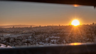 T4K_066 4K time lapse Israel: The Old City of Jerusalem at sunrise