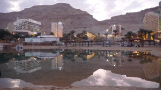 TD_001 Time Lapse Israel: Dead Sea - Dead Sea Hotels day to night