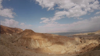TD_009 Time Lapse Israel: Dead Sea - Judean Desert near the Dead Sea
