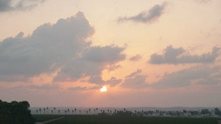 TI_002 Time Lapse Israel: Landscape and Nature - sunset in Southern Israel