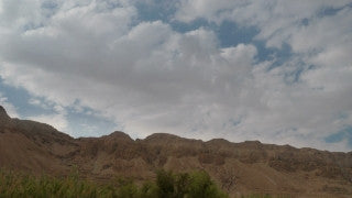 TI_004 Time Lapse Israel: Landscape and Nature - clouds over Eastern Israel