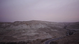 TI_011 Time Lapse Israel: Landscape and Nature - desert mountains day to night