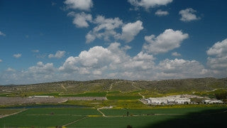 TI_012 Time Lapse Israel: Landscape and Nature - clouds over Judean hills