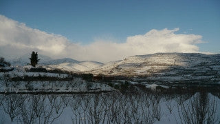 TN_009 Time Lapse Israel: North & Sea of Galilee - snow in the Golan heights