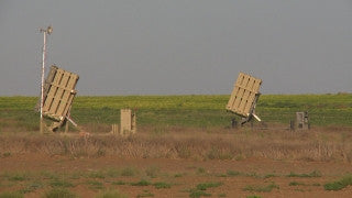 TZE_007 Israel military footage: Gaza War 2014 Operation Protective Edge - Iron Dome missile defense system