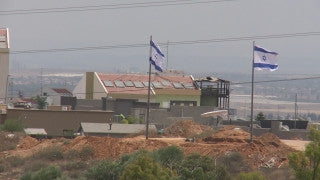 TZE_012 Israel military footage: Gaza War 2014 Operation Protective Edge - Town of Sderot