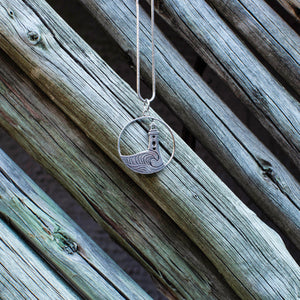 Lighthouse Silver Pendant