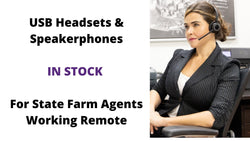 Headset & Speakerphones for Agency Network Agents for at Home Working | Headset Advisor