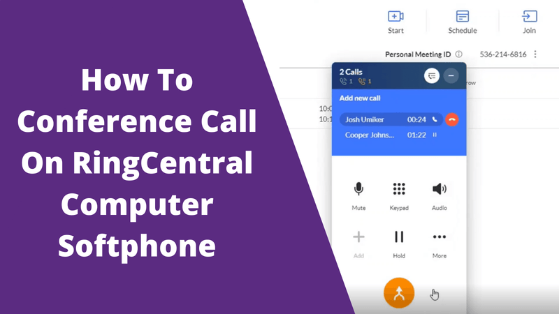 How To Conference Call On RingCentral | Headset Advisor