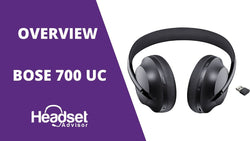 MIC TEST & REVIEW of Bose 700 UC Bluetooth Wireless Headset with ANC | Headset Advisor