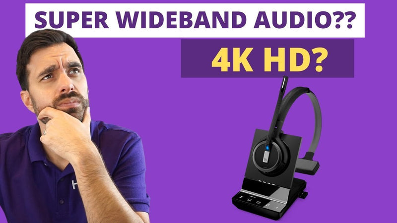 Narrowband, Wideband, Now There's A Super Wideband Headset With Microphone & Speaker Test VIDEO | Headset Advisor