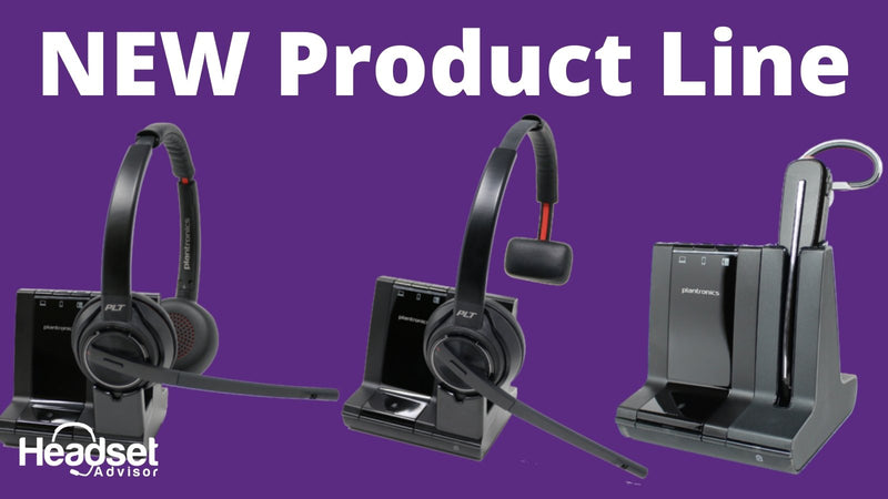 NEW -Everything You Need to Know About The Plantronics Savi 8200 Series Wireless Headset | Headset Advisor