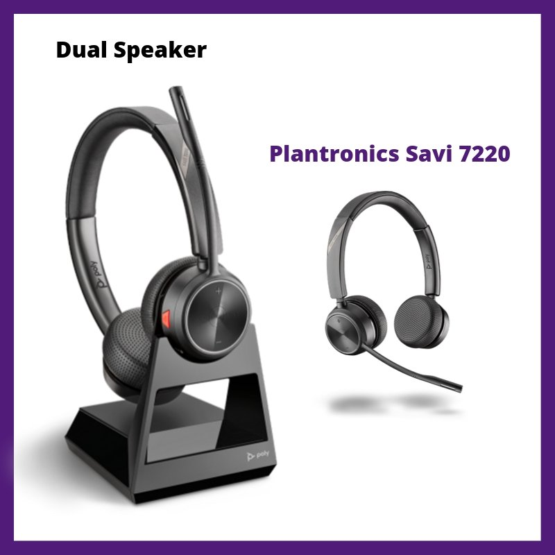 Plantronics Savi 7220 Wireless Office Headset Review | Headset Advisor