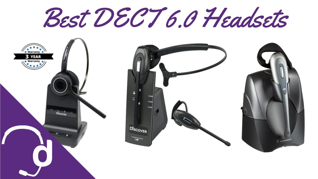 Top 3 Dect 6 0 Wireless Headsets For Your Office Phone Headset Advisor