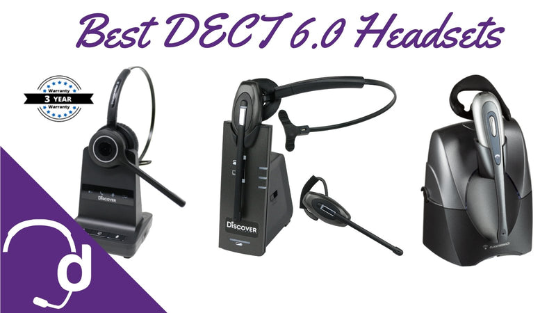 Top 3 DECT 6.0 Wireless Headsets For Your Office Phone | Headset Advisor