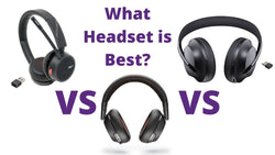 What Bluetooth headset is best? Poly 4220 UC vs Poly 8200 UC vs Bose 700 UC | Headset Advisor