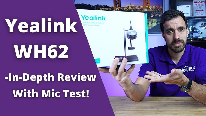 Yealink WH62 Wireless Headset Review Including Microphone + Wireless Range Test | Headset Advisor