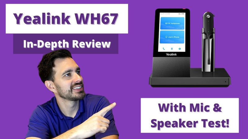 Yealink WH67 Wireless Headset In Depth Review With Mic & Speaker Test VIDEO | Headset Advisor