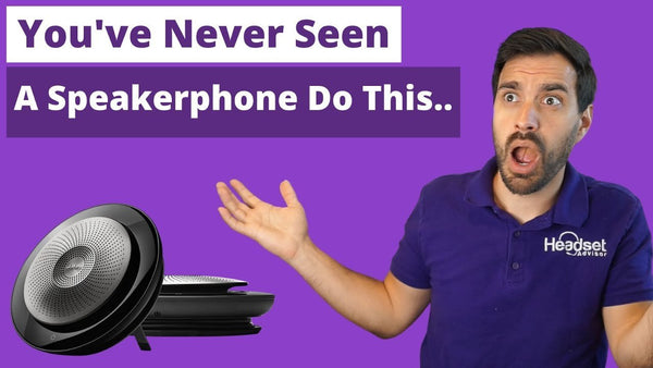 You've Never Seen A Speakerphone That Can Do This | Headset Advisor