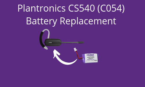 c054 battery replacement