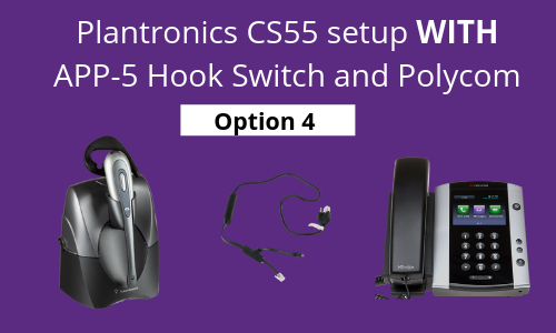 plantronics app-5 setup with polycom