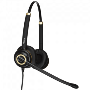 Discover D712 Business Headset - Dual Ear