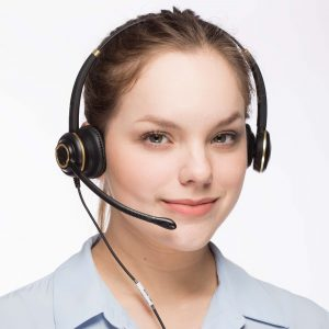 Discover D712 Business Headset for Loud Offices