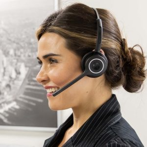 Switch Between Single and Dual Business Headset Speakers
