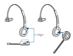 convertible headset diagram