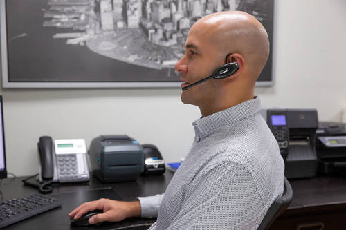 A Business Headset for Phone Calls, Video Conferencing, Webinars, Music or Podcasts