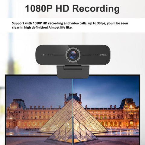 HD100 webcam showing the difference in quality