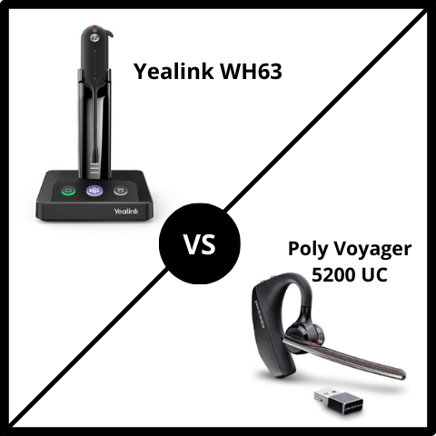 Yealink WH63 vs Voyager 5200 UC