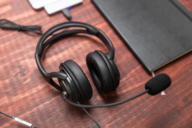 Discover D722 Quick Disconnect Noise Cancelling Wired Headset - Headset Advisor