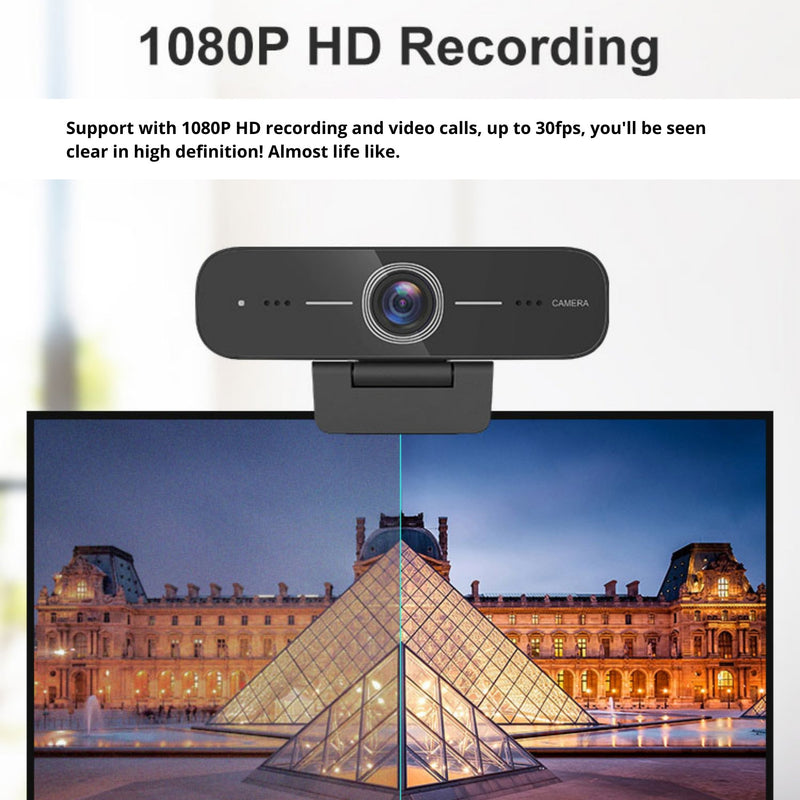 Discover HD100 Professional USB Webcam With 1080P - Headset Advisor