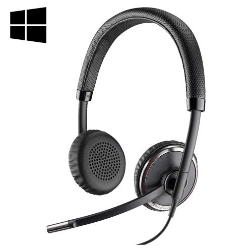 Plantronics Blackwire C520M Dual Speaker USB Wired Headset- Microsoft - Headset Advisor